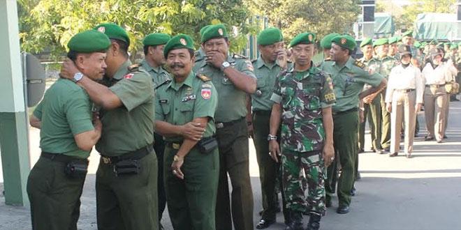 Upacara Bendera Dilanjutkan Laporan MPP Anggota Kodim 0725/Sragen