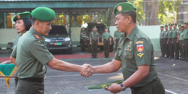 Kodim 0733 Kota Semarang Beri Penghargaan Kepada Prajurit Berprestasi