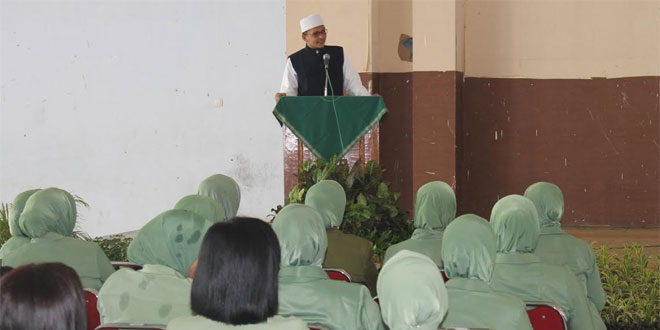 Persit KCK Cab. XLVI Sragen Gelar Halal Bihalal