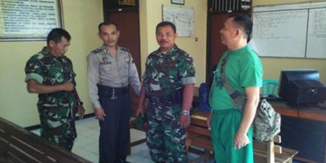 Upaya Danramil 21/Galsel Pupuk Terus Suasana Akrab di Wilayah Tegal Selatan