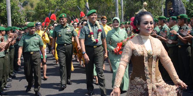 Aspers Kasad Menjadi Pangdam IV/Diponegoro