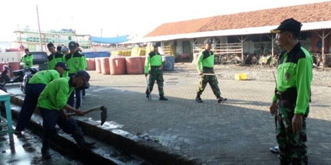 Koramil 01/Tegal Barat Melaksanakan Giat Karbak di Wilayah Kelurahan Tegalsari