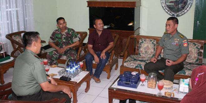 Kunjungan Kerja Asrendam IV/Diponegoro di Kodim 0726 Sukoharjo