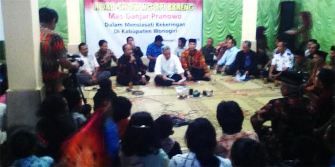 Kunjungan Gubernur Jateng di Ds. Gambirmanis Pracimantoro Wonogiri