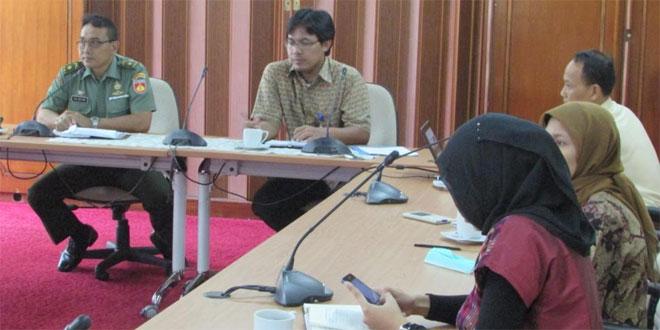 Kodim Tegal dan BI Rapat Rencana Pembuatan Jamban di Tegal