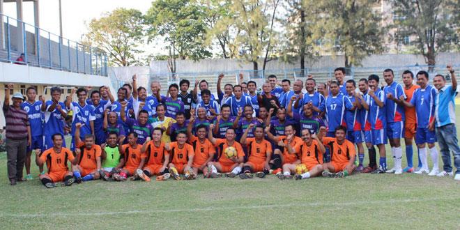 Kodim 0733 Kota Semarang Selenggarakan Turnamen Sepakbola