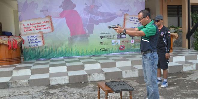 Dandim Wonosobo Buka Kejuaraan Tembak Reaksi Airsoft Gun
