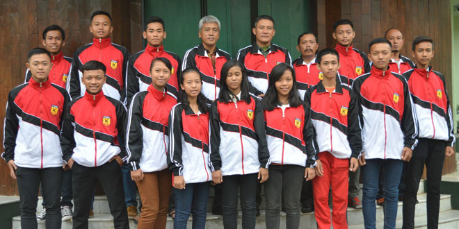 Atlit Forki Binaan Kodim 0733 Kota Semarang Ikuti Kejurprov Karate
