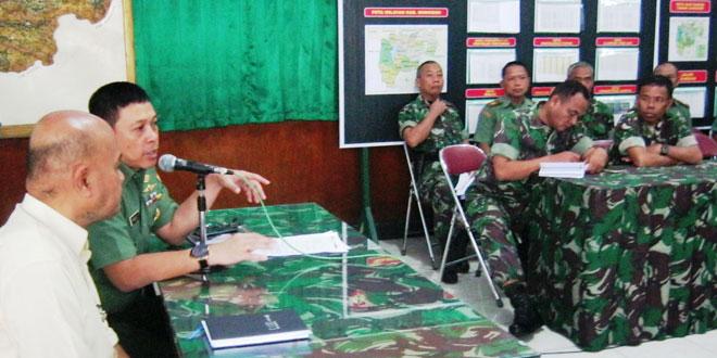 Jam Komandan Kodim 0728/Wonogiri Dilanjutkan Rakor dengan Kabulog Ngadirojo Wonogiri