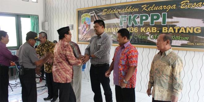 Dandim Batang Silaturahmi dengan FKPPI