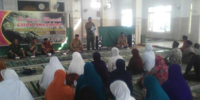 Bimbingan Manasik Calon Jama'ah Haji Kelompok Kecamatan Kedungbanteng Kabubaten Tegal th 2015