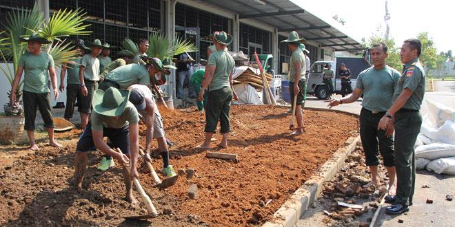Study Banding Pertamanan Prajurit Kodam IV/Diponegoro di Djarum Oasis