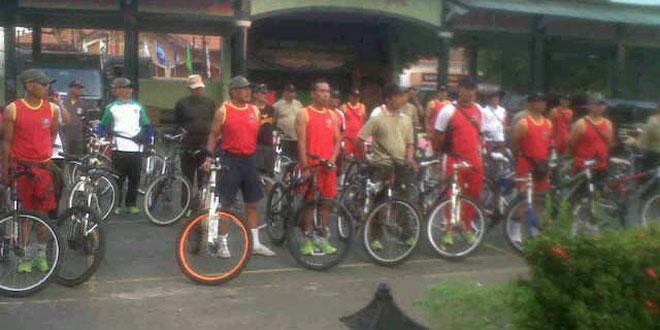 54 Personel Mengikuti Sepeda Santai