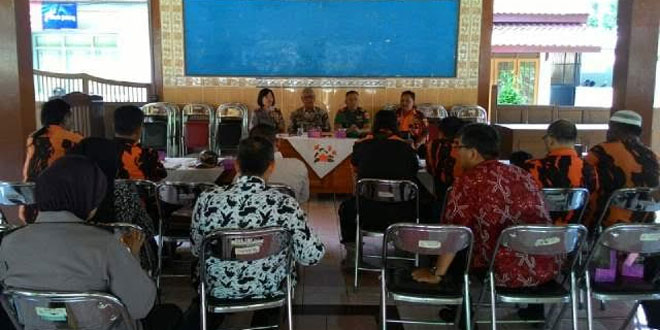 Danramil Hadiri Silaturahmi dengan Pemuda Pancasila