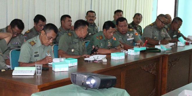 Rakoor Dalam Rangka Hut TNI Ke 70 dan HUT Kodam IV/Dip Ke 65