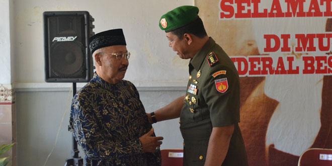 Danrem 071/WK Ziarah dan Silaturahmi ke Keluarga Pangsar Jenderal Soedirman