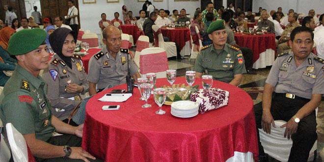 Dandim 0733 Kota Semarang Hadiri Pelantikan Pengurus PWI Provinsi Jawa Tengah