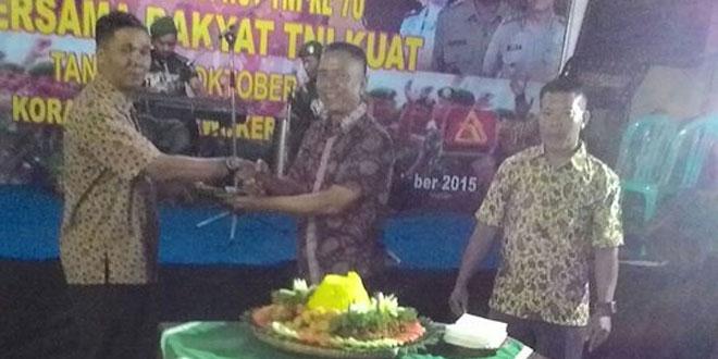 Peringati HUT TNI Ke-70, Koramil 01/Purwokerto Utara Gelar Syukuran