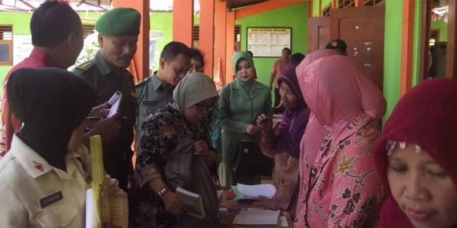 Lomba Pelayanan KB Dalam Rangka TNI Manunggal KB Kesehatan Antar Provinsi Jawa Tengah