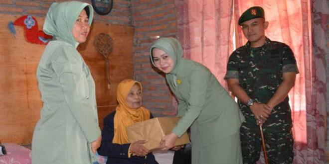Anjangsana Dalam Rangka HUT TNI Ke-70 dan HUT Kodam Ke-65