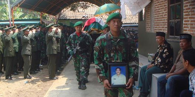 Kodim Jepara Kehilangan Salah Satu Prajurit Terbaik