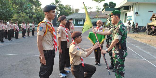 Kodim 0732/Sleman Selenggarakan Pendidikan Dasar Saka Wira Kartika