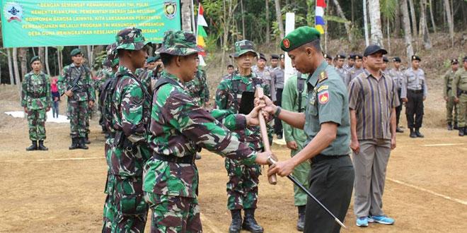 Dandim 0708/Purworejo Buka Pelaksanaan TMMD Sengkuyung