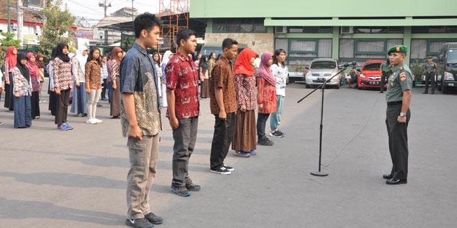 Korem 072/Pmk Memberangkatkan 250 Siswa Peserta Jambore Anak Daerah DIY