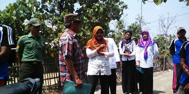 Babinsa Koramil 03/Sumurpanggang Dampingi Penilaian Lomba Desa Ternak Sehat