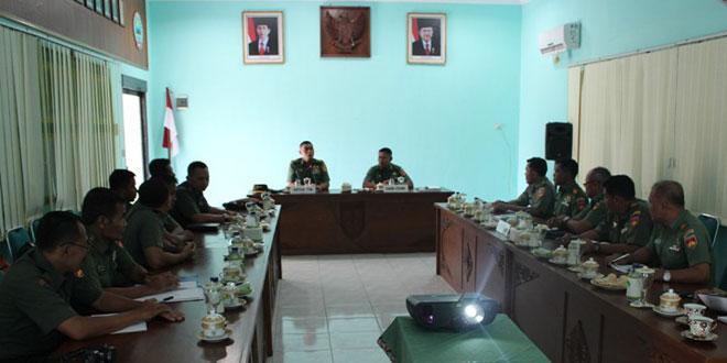 Tim Dalprog Kodam IV/Diponegoro Kunjungi Kodim Sragen