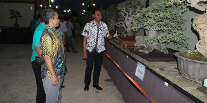 Dandim Sragen Hadiri Pameran Bonsai Nasional