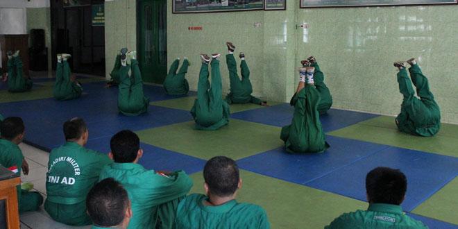 Kodim 0733-BS/Semarang Laksanakan Uji Kenaikan Tingkat Beladiri Militer Yongmoodo