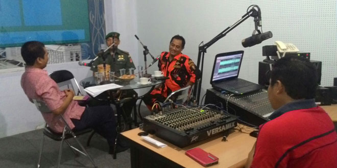 Dialog Interaktif Dandim 0701/Banyumas di RRI Purwokerto