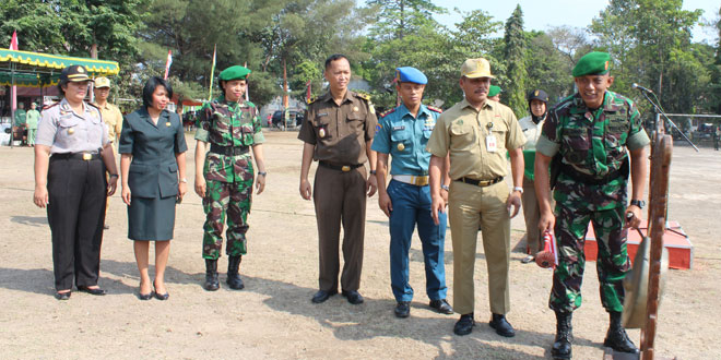 Penutupan TMMD Sengkuyung Tahap II Tahun 2015 di Wilayah Kodim 0734 Yogyakarta