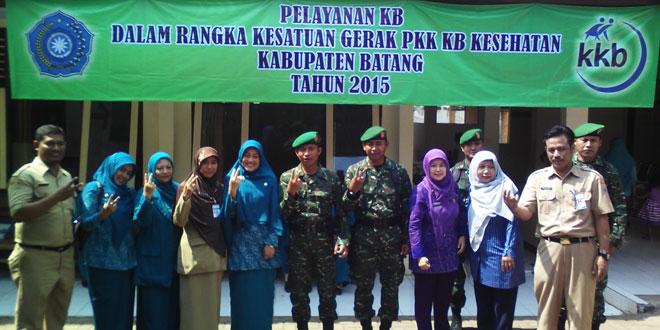 Kegiatan pelayanan KB Kabupaten Batang tahun 2015