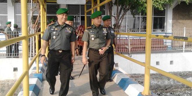Danrem 073/Makutarama Cek Obvitnas PLTU Tanjung Jati B Jepara