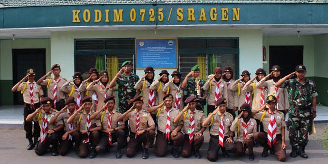 Kontingen Saka Wira Kartika Kodim Sragen Raih Juara III Navigasi Darat Tingkat Nasional