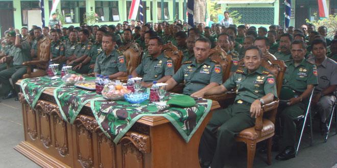 Kunjungan Kerja Danrem 073/Mkt di Kodim Jepara