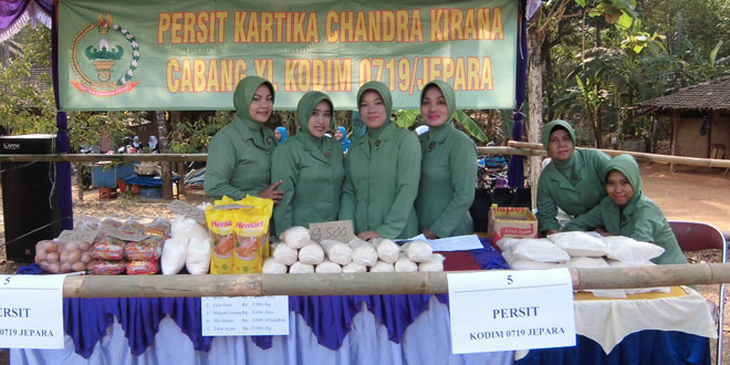 Pasar Murah TMMD Sengkuyung II Tahun 2015