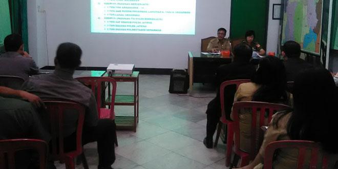 Kodim 0733-BS Semarang Gelar Rapat Persiapan Upacara Peringatan Hari Pahlawan