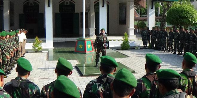Jam Komandan kepada Anggota Kodim 0717/Purwodadi