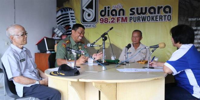 Danrem 071/Wk Dialog Radio Dian Suara