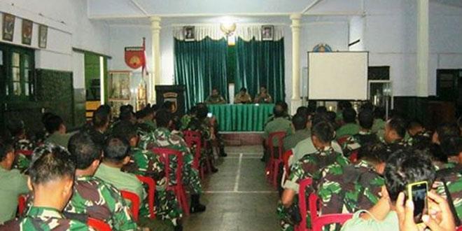 Pertemuan Babinsa dengan Dispertan Kabupaten Wonogiri