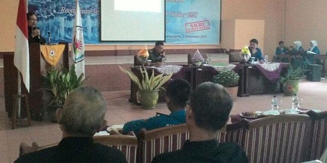 Dandim 0701/Banyumas Tanamkan Jiwa Bela Negara di SMA N 5 Purwokerto