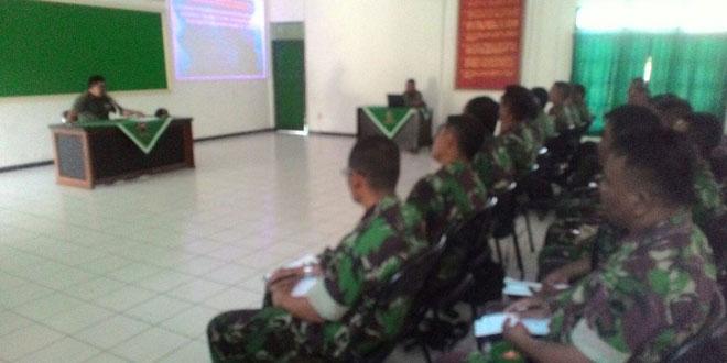Kodim 0701/Bms Briefing Pelaku Latihan Penanggulangan Bencana Erupsi Gunung Slamet