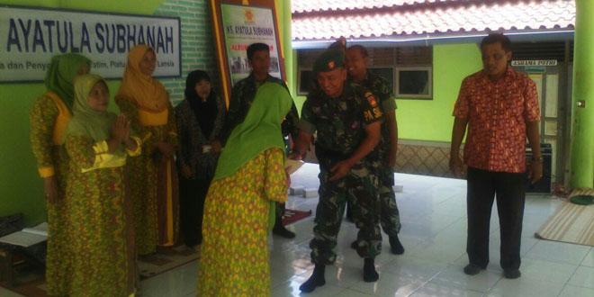 Dandim 0736/Batang Gelar Acara Silaturahmi di Panti Asuhan