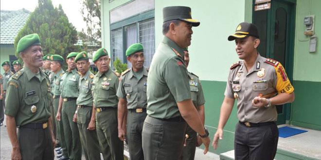 Kunjungan Kerja Pangdam IV/Diponegoro ke Kodim 0724/Boyolali