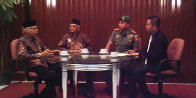 Dandim 0735/Surakarta Melaksanakan Talk Show di TATV