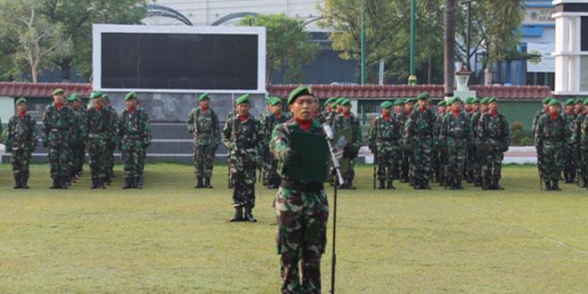 Kodim Sragen Melaksanakan Upacara 10 November Tahun 2015