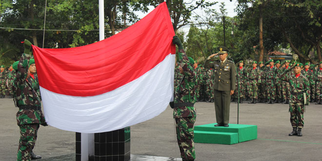 Kodim Purworejo Peringati Hari Pahlawan